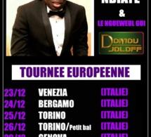 """""""DOMOU JOLOF"""" présente Assane Ndiaye et son groupe le """"Ngéweul gui"""" en tournée Européenne du 23 au 31 Décembre."""