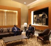 Le Président de la République Macky Sall dans le nouveau d'honneur de l'AIBD avant son départ pour Tokyo