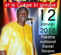 Le théatre national Daniel Sorano, déroule le Tapis Rouge ce 12 Janvier avec l'artiste Malé Mbaye. Regardez