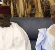 """Abdou Diouf à Serigne Mbaye Sy Mansour : """"Je ne suis pas venu pour la politique, mais je vous confie Macky Sall"""""""