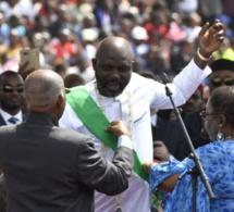 George Weah officiellement investi président du Libéria