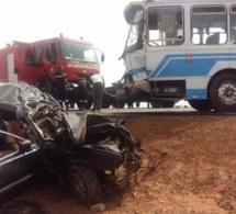 Fatick : 5 morts et 7 blessés dans un accident de la circulation