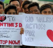 Ces pays où la Saint-Valentin est interdite