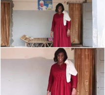 PHOTO DE MARIÈME FAYE SALL AVEC L'AFFICHE DE WADE DERRIÈRE : La polémique