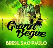 """SAHAADA EVENTS vous présente le """"GRAND BÉGUÉ"""" de Pape Diouf à Sao Paulo au Brasil le 4 avril pour féter l'indépendance du Sénégal."""