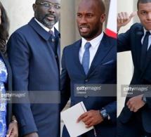 George Weah, Drogba, Mbappé : le récit de la rencontre avec Emmanuel Macron…Tout ce que vous n'avez pas vu en Images