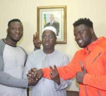 Eumeu Séne et Ama Baldé Chez le … Les lutteurs sont-ils devenus des cibles pour les politiciens?