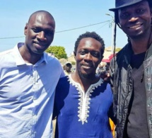 L'acteur franco-sénégalais Omar Sy à Dakar pour…