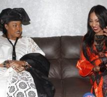 La visite de Viviane chidid chez le Ministre de la Femme Ndèye Saly Diop Dieng…