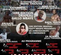 MGC Production: Programme du gala de lutte avec frappe du 4 mars