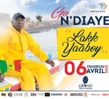 "Spécial ""LAKK YABOYE"" au Grand Théatre le 06 avril avec Go Ndiaye."
