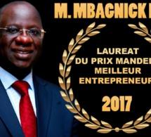 « Prix Nelson Mandela du meilleur Entrepreneur » Mbagnick Diop honoré aujourd'hui à Paris