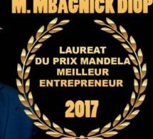 La cérémonie de remise du Prix Mandela  cet a à l'hôtel Marriot sur les Champs Élysées de Paris. Bravo et Félicitations au Président Mbagnick Diop