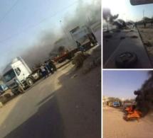 Quelques images des émeutes qui ont suivi l'annonce de la découverte macabre de l'enfant Fallou (2 ans, 6 mois)