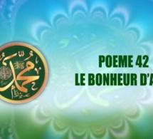 POÈME SUR LE PROPHÈTE PSL : 42 LE BONHEUR D'ALLAH