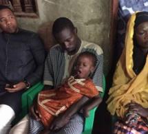 """Le président Bougane Guéye de """"GUEUM SA BOPP"""" chez la famille de Serigne Fallou, l'enfant tué à Rufisque"""