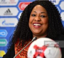 """La Sénégalaise, Fatma Samoura, désignée """"femme la plus puissante du sport mondial'' par Forbes"""