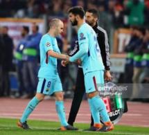 La surprenante réaction de Iniesta après l'élimination du Barça