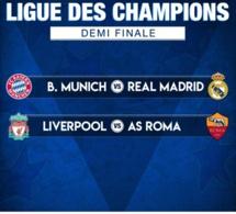 Ligue des Champions : Choc Bayern vs Real Madrid et Liverpool vs Roma
