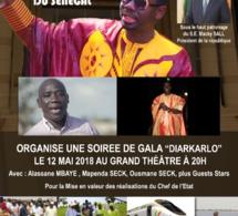 Deux événements au grand theatre: Alassane Mbaye, Mapenda Seck, Ousmane Seck seront au grand theatre le 12 Mai au moment où Waly Seck fêtent son anniversaire aussi.
