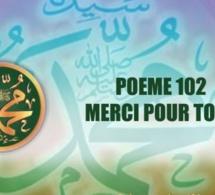 VIDÉO : POÈME SUR LE PROPHÈTE PSL : 102 MERCI POUR TOUS