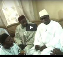 Visite de Serigne Babacar Sy Mansour à Touba chez Serigne Mountakha Mbacké