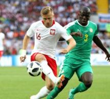 Kalidou Koulibaly en action Pologne-Sénégal