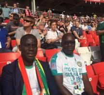 Gakou et son pote Ahmed Aïdara en Russie