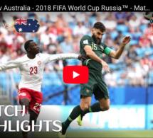Denmark 1-1 Australia - 2018 FIFA World Cup Russia™ - Match 22