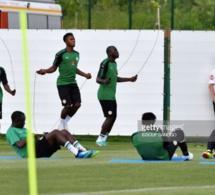 Deuxième séance d'entraînement des Lions avant le Japon, Sadio Mané absent à …