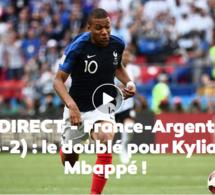 Huitieme de final CDM 2018 France élimine l'Argentine par 4 buts à 3
