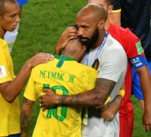 Thierry Henry a consolé Neymar