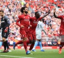Premier League : Sadio Mané marque deux buts avec Liverpool…Regardez