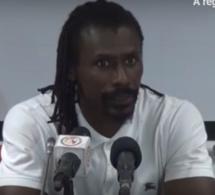 Vidéo) Equipe nationale – Aliou Cissé: « Objectif atteint mais que ce fut difficile