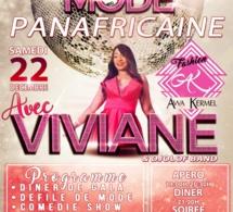 NUIT DE LA MODE AFRICAINE LE 22 DECEMBRE: Awa Kermel déroule le tapisrouge avec VIVIANE CHIDID à Luxembourg.