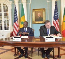 ETATS-UNIS : le PM Mahammed Boun Abdallah Dionne reçu par le secrétaire d'État américain, M. Pompeo