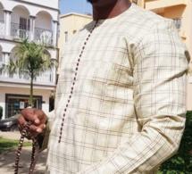 Mode vendredi : Cheikh Sarr très chic en tenue marron beige