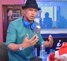 El Hadj Diouf dans les locaux de la radio de Dj Boubs