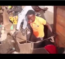 Travaux du TER: Regardez la vidéo qui choque les Sénégalais …