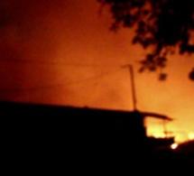 Bambey : 21 cases ravagées dans un incendie à « Ngouye Diogou »