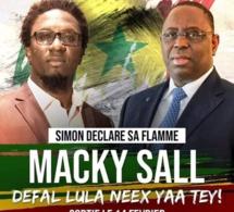 Le rappeur Simon à Macky Sall « Deffal Loula Nekh Yaa Tey »