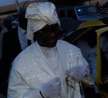 Cheikh Ahmadou Kara aperçu à bord d'un taxi à Thiès