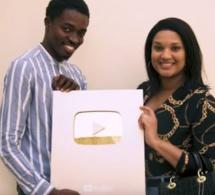 Marodi Tv gagne le Trophée Or de Youtube