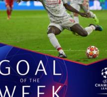 Ligue des Champions: Sadio Mané remporte le titre de plus beau but de la semaine