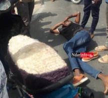 Urgent – Accident à la Cité Vauvert : Encore, une moto Jakarta percutée par un véhicule…