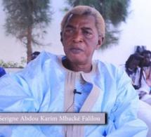 Touba : Importante recommandation de Serigne Abdou Karim Mbacké Falilou