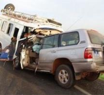 Accident sur l'axe de Tivaouane, 2 morts et 3 blessés grave