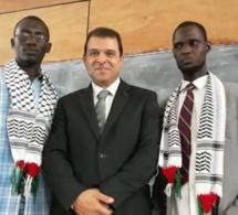 La palestine colonise l'Université Cheikh Anta Diop de Dakar.