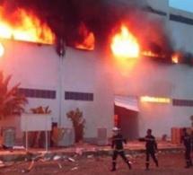 Urgent - L'usine Sunecor (mèches Linda) de Mbao ravagée par un incendie