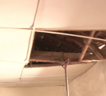 Ecole 1 de Louga : Le toit de la classe qui accueille les handicapés s'écroule... ( Vidéo )